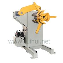 Máquina manual o neumática de desenrollado de metales que utiliza en la línea de prensa