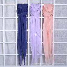 Soft Handfeel Muslim Hijab Scarf 80s 100%Vicose Scarf Silk Handfeel