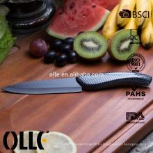 5'' Utility Damascus Knife Blade Black