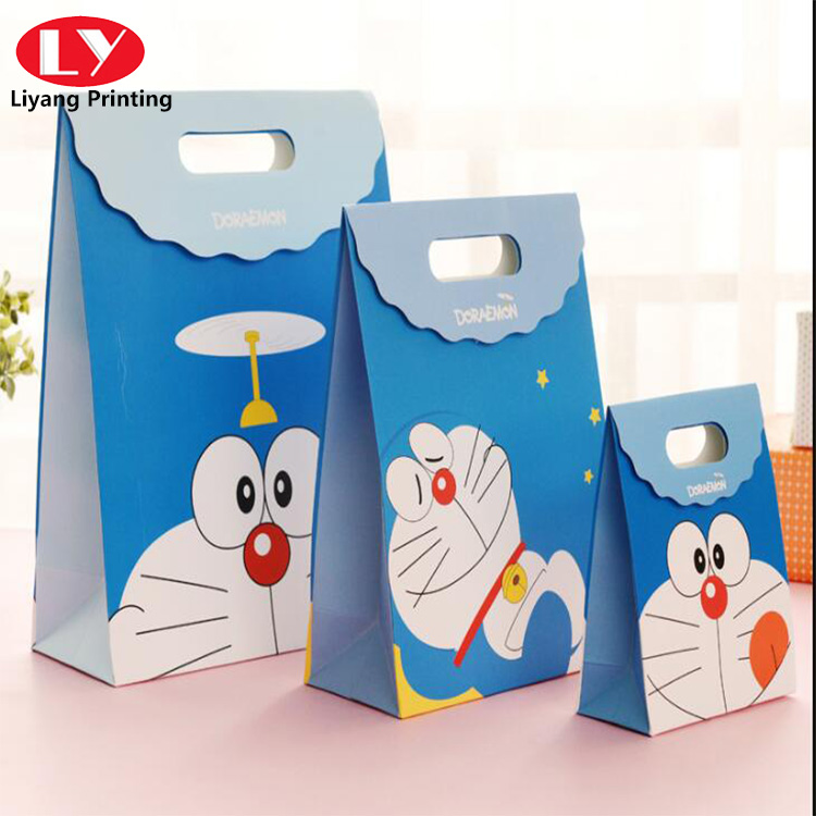 Gift Bags with Cartoon Design