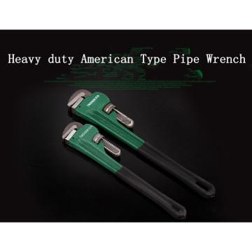Clé à tuyau forgé robuste de 36 po de type américain