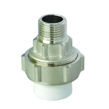 Brass Male PPR Union (Hz8115) for PPR Pipe