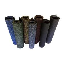 Anti-slip Interlocking Rubber Floor Tiles EPDM Speckled Rubber Gym Flooring
