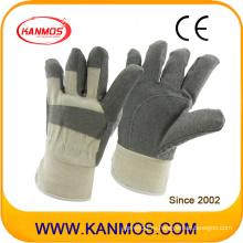 Продаем белые защитные рабочие перчатки из серого винилового стекла (41017)