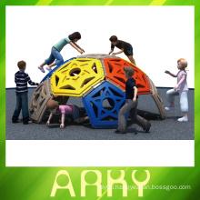 Hemisphere climbing for children