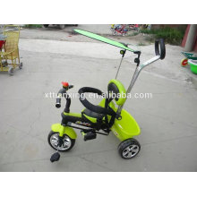 2015 New style Children tricycle kids trike baby stroller with Air pump wheel