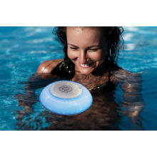 Floating Bluetooth speaker for swimming pool