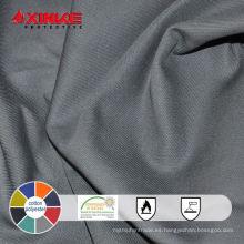 65/35 Uso de la tela ignífuga de CVC para la industria protectora