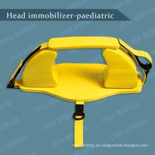 Dispositivo inmovilizador de cabeza pediátrico para portacabeza infantil