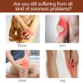Massageador de pé de perna com compressão de ar portátil com calor