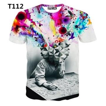 New 2014 Disign Custom Made 100% Baumwolle T-Shirts