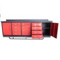 Banc de travail en métal de Qingdao 10ft avec des Cabinets d'outil en ventes