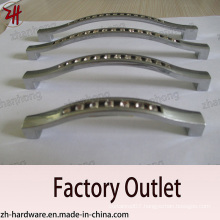 Factory Direct Sale Zinc Alloy Cabinet Handle with Diamond (ZH-1158)
