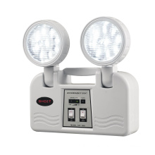 wholesale high quality twin emergency spot light with battery