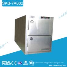 SKB-7A002 Stainless Steel Morgue Refrigerator Freezer Casket