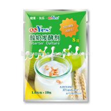 Yogur hecho en casa de la cultura
