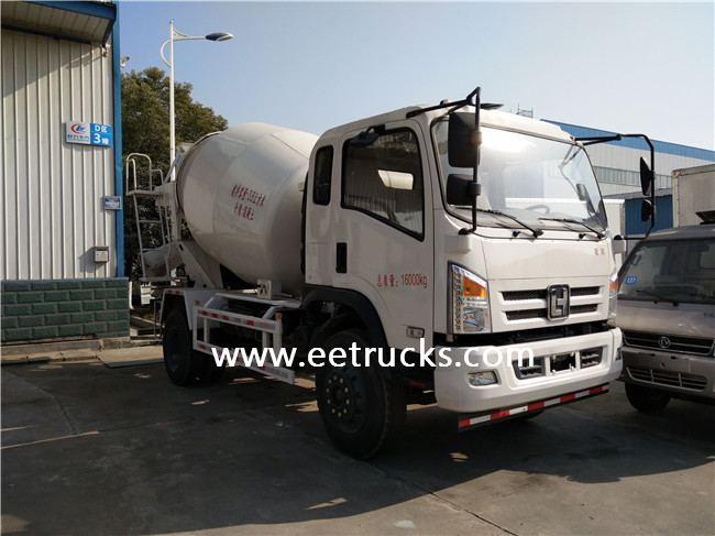 5 CBM Concrete Mixer Vehicles