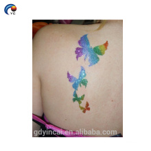 New ideas glitter lips temporary tattoo sticker with high quality