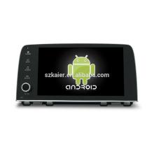 ¡Cuatro nucleos! DVD de coche de Android 6.0 para HONDA CRV 2017 con pantalla capacitiva de 9 pulgadas / GPS / Enlace de espejo / DVR / TPMS / OBD2 / WIFI / 4G
