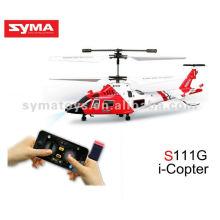 SYMA S111G Infrarot Simulation Hubschrauber, Spielzeug Hubschrauber von iPhone gesteuert