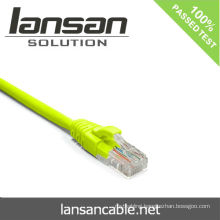 LANSAN Professional High Speed cat6 utp patch cable PVC/LSOH ETL/UL/ROHS/ANATEL