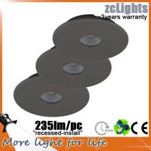 Flat Recess Decorative IP44 3W lampe de cuisine LED
