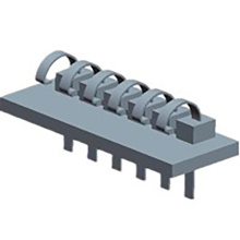 3,5 mm circuit batterij connector 6P