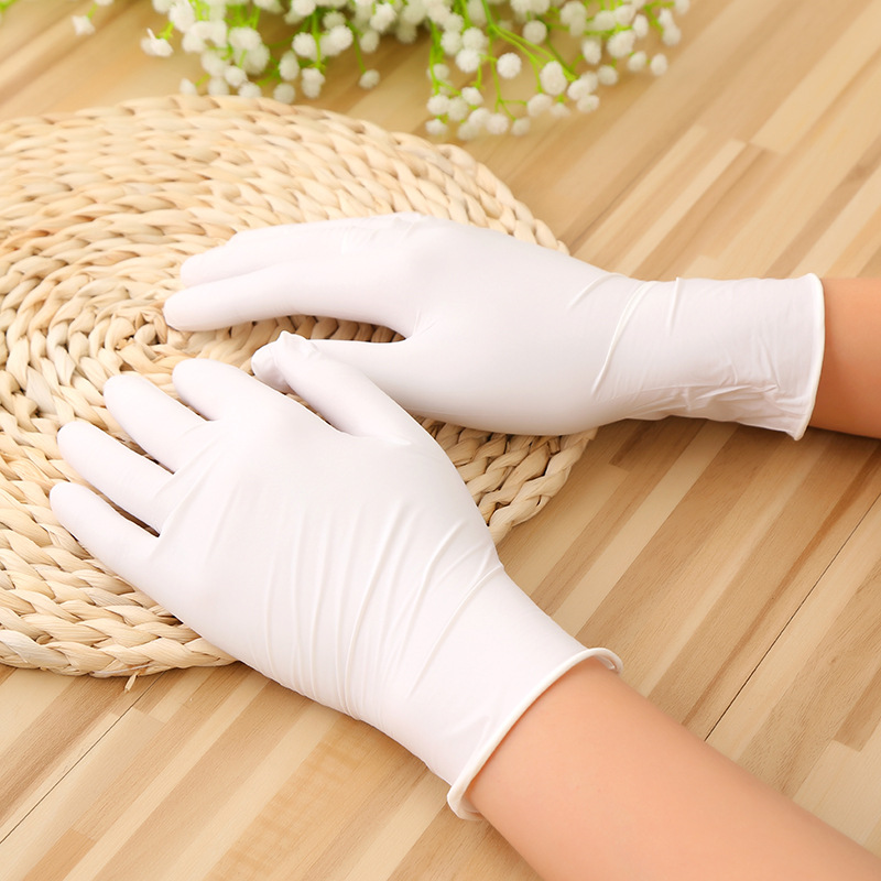Disposable latex glove