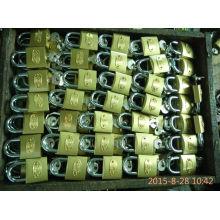 Candado de hierro 32MM color oro