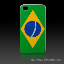 Brazilian Flag Hard Cover for iPhone