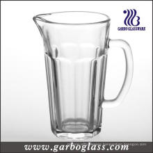 1.2L High Quality Glass Beer Jug with Handle