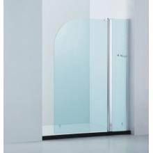 Pantalla curvada de la esquina de la bañera / pantalla redondeada de la ducha de la esquina (CVP010)