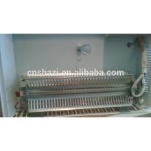 Elemento de aquecimento de moldagem por extrusão de alumínio para aquecedor de sala
