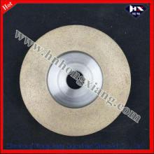 Rueda de la Copa de diamante para la máquina de ángulo / muela abrasiva de diamante de vidrio