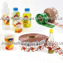 Etiquettes à manche PVC, film de stratification, étiquettes à manches extensibles / Rolls / Wrap