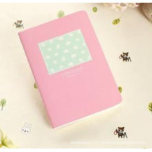 Mini Cartoon Sewing Portable Notebook, High Quality Leather Notebook