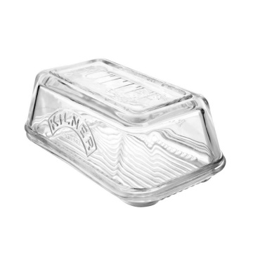 Met de hand gemaakt Crystal Glass Butter Box