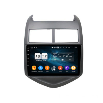 2015 Aveo auto-multimedia systeem Android 9.0
