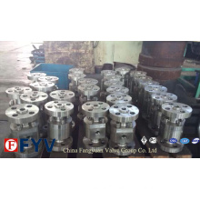 ANSI Reduced Bored Cast Steel Floating Ball Valve