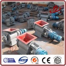 Bulk material bottom rotary discharge valve