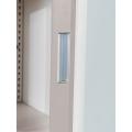 Gabinetes de oficina de acero con puertas corredizas de vidrio acrílico