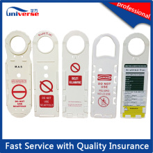 Free Sample Offered Plastic Scaffolding Safety Tag