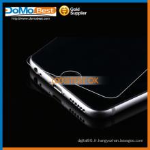 Double-face, 9H 2,5 D rond bord 0,3 mm asahi verre trempé protecteur d'écran pour Iphone 6