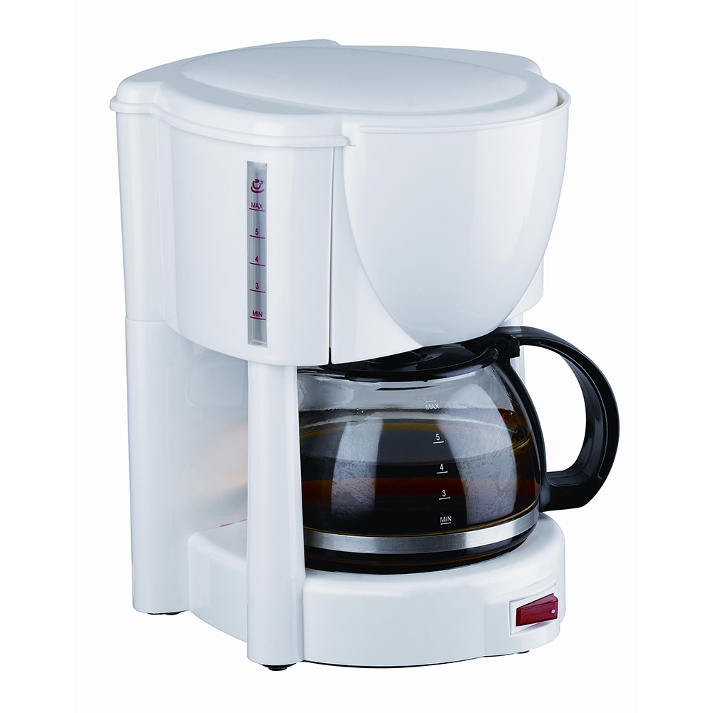coffee maker with cup