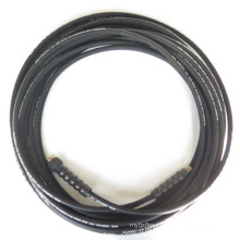 Competitive price braided heat resistant water use rubber 1/4 inch  pressure washer hose factory sale
