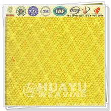 YT-0823, tissu en maille tricoté en polies blanc pour chaise