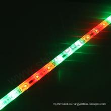 Impermeable rgb llevó la tira ligera LPD6803 Carcasa de aluminio epistar llevó la barra ligera