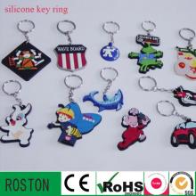 Cartoon Silikon Schlüsselanhänger (mehr Arten von Tier)