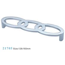 Poignée de meuble de meuble en alliage de zinc en alliage (21705)