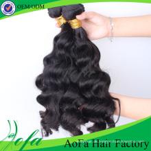 Körperwelle Menschenhaarverlängerung Unverarbeitete Großhandels Nerz Virgin Brazilian Hair